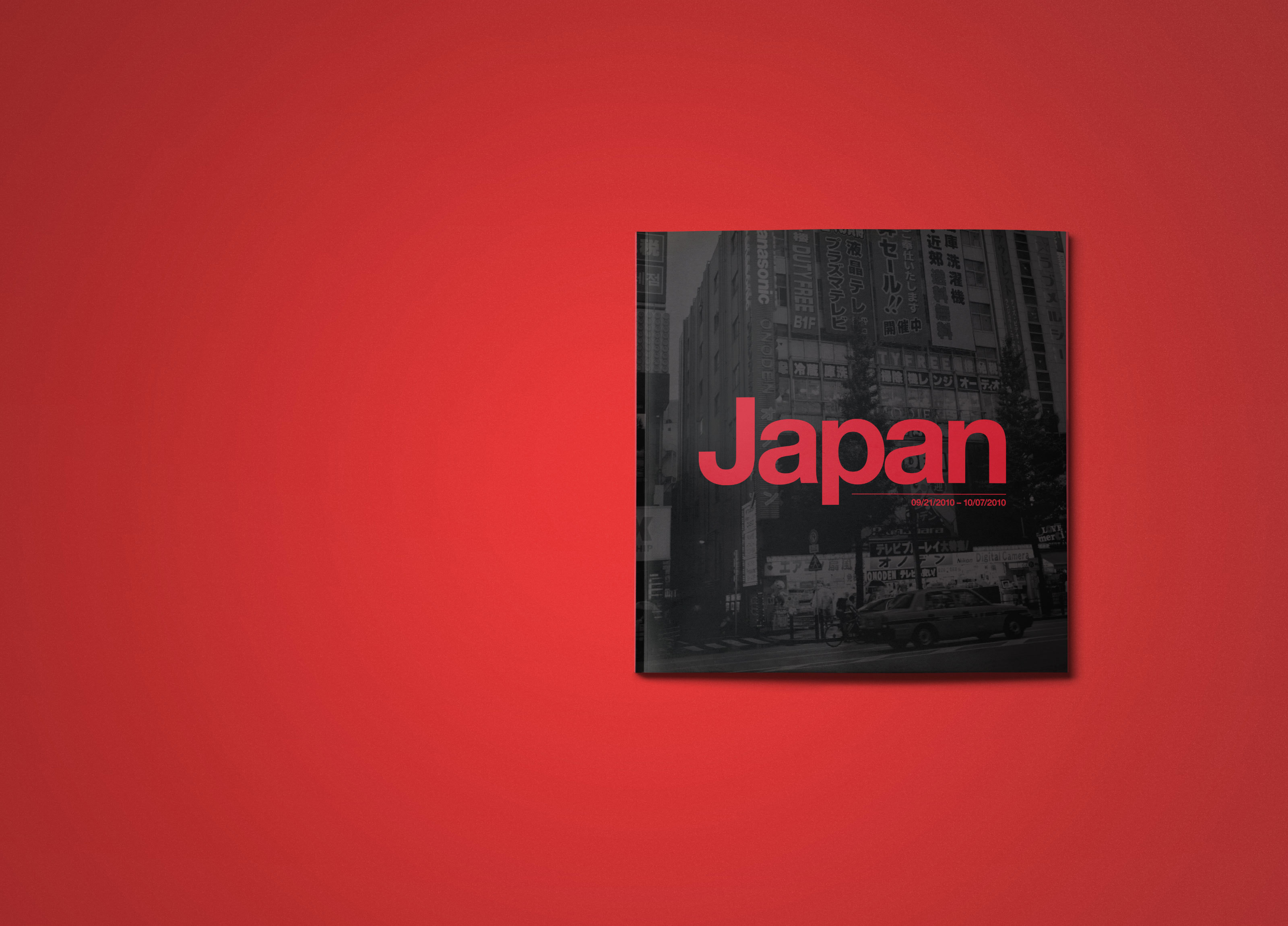 Photography Book Cover Fee : Japan photo book