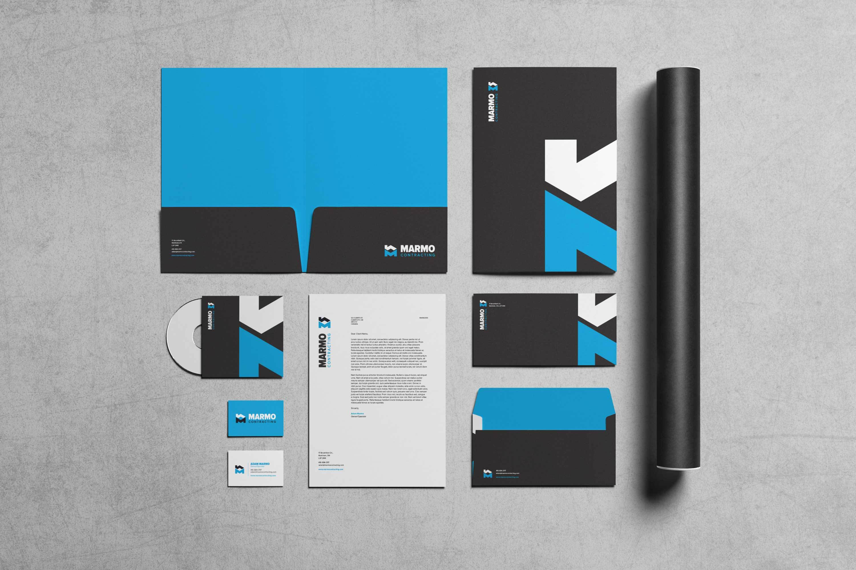 Marmo Contrating Business Collateral